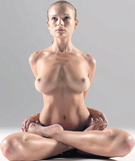 Йога голая в сексе