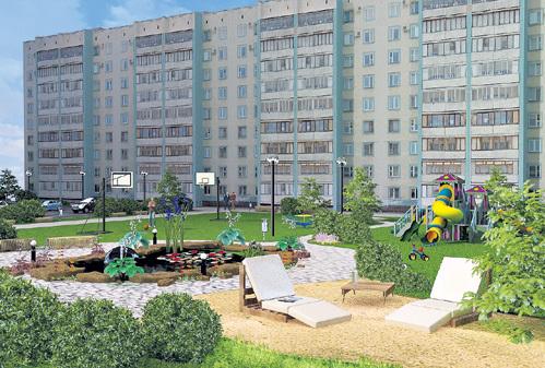 По закону владельцы квартир вправе распоряжаться своим двором по собственному усмотрению: хоть пруд вырыть, стоянку организовать или вовсе превратить его в парк развлечений. Рис. Полины ФЕОФАНОВОЙ