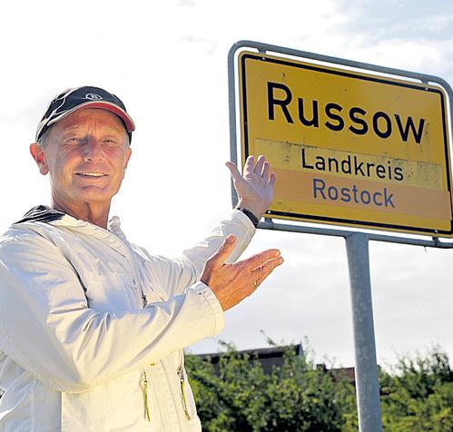 В Германии названия некоторых городов созвучны русским