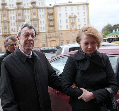Вячеслав ШАЛЕВИЧ с женой