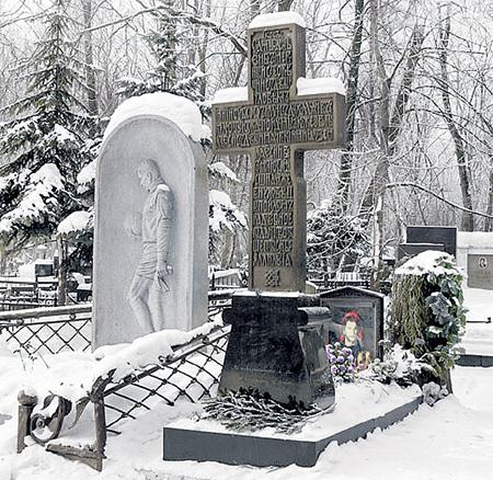 Могила Игоря на Ваганьковском кладбище