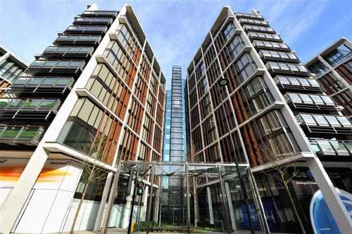 One Hyde Park - роскошный жилой комплекс, где самая дорогая в мире жилплощадь (фото e-architect.co.uk).