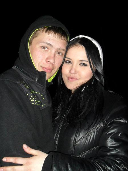 Эдуард Тарханов с невестой...