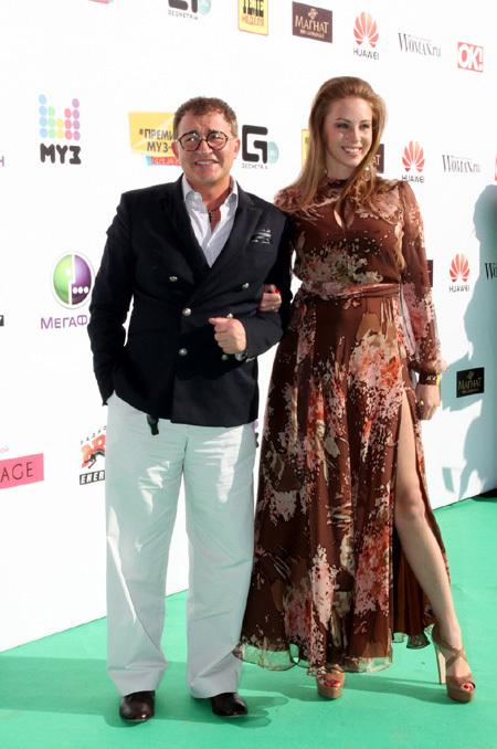 Дмитрий ДИБРОВ с женой