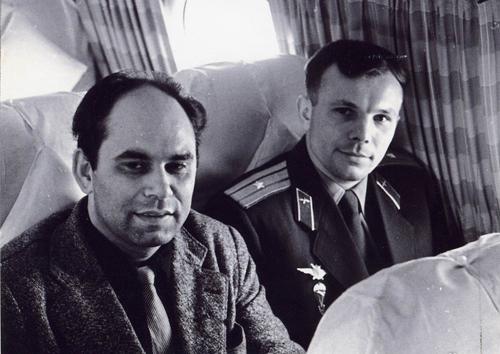 Василий ПЕСКОВ, Юрий ГАГАРИН