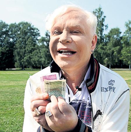 В уме Борис легко переводит латвийские латы в евро