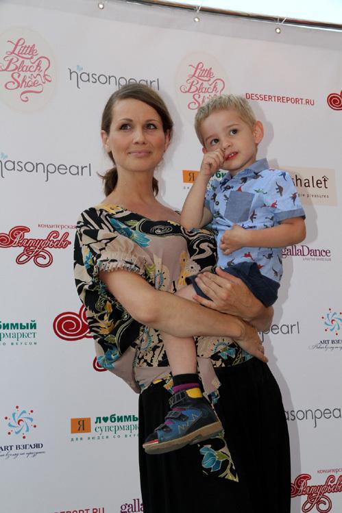 Наталья ЛЕСНИКОВСКАЯ с сыном