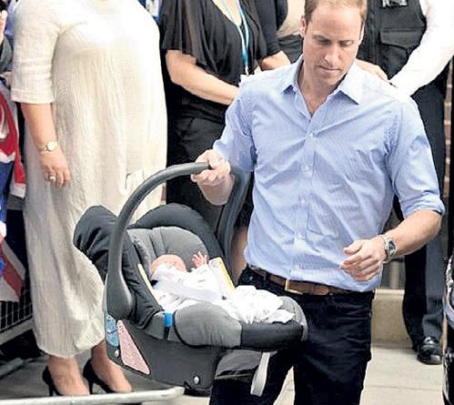 Во всех цивилизованных странах детей перевозят, используя удерживающие устройства. Автолюлька обеспечивает безопасность маленькому сыну принца УИЛЬЯМА