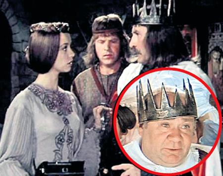 Двум королям - ЗЕЛЬДИНУ и ЛЕОНОВУ (справа) приходилось делить одну корону