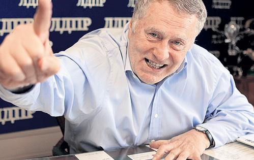 Владимир ЖИРИНОВСКИЙ неспроста много лет цепко держится за депутатское кресло