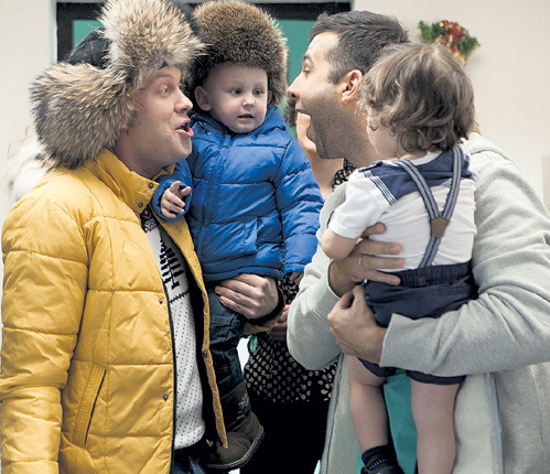 С юными актёрами СВЕТЛАКОВУ и УРГАНТУ пришлось нелегко