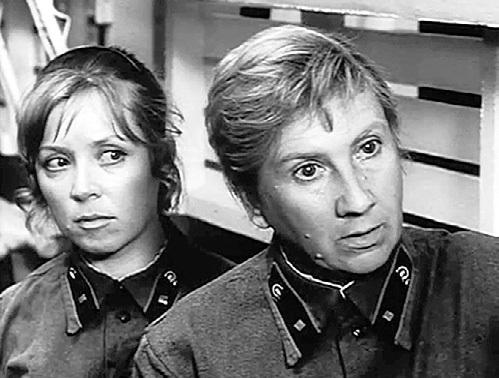 Роль медсестры Фаины в картине «На всю оставшуюся жизнь» (1975 г.) Светлана Алексеевна считает одной из самых значимых (справа актриса Людмила АРИНИНА)