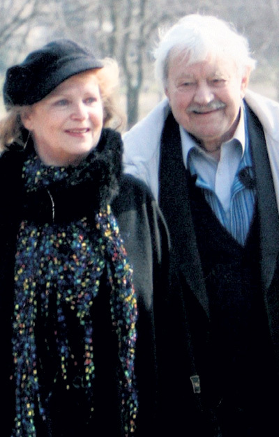Донатас БАНИОНИС прожил с супругой Оной 60 лет (на курорте Друскининкай, 2008 г.)