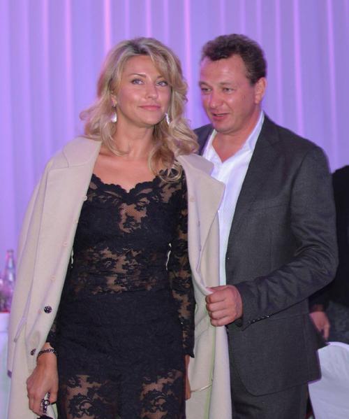 Катя АРХАРОВА и Марат БАШАРОВ принимали поздравления на закрытом банкете ММКФ.