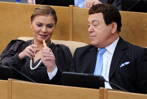 Алина КАБАЕВА и Иосиф КОБЗОН. Фото: «Комсомольская правда»