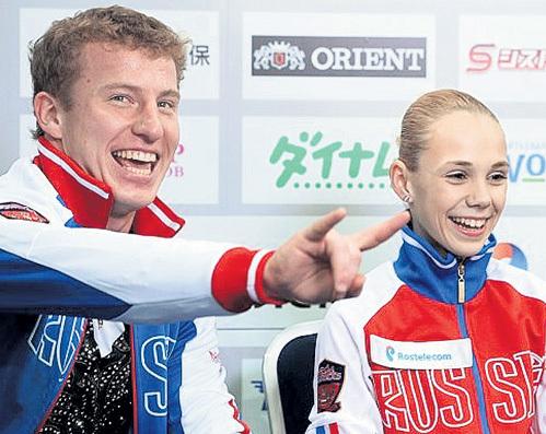 В марте этого года АНТИПОВА и МАЙСУРАДЗЕ впервые попали на чемпионат мира и заняли там восьмое место. Фото: Vk.com
