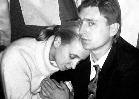 Со второй женой, Ириной ФЕДОСЕЕВОЙ, ЧЕРЕНКОВ познакомился в налоговой инспекции. Фото Игоря УТКИНА