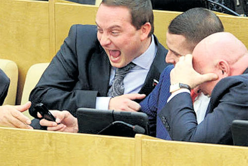 Работа у депутатов - сплошное удовольствие! (Фото: tvernews.ru)