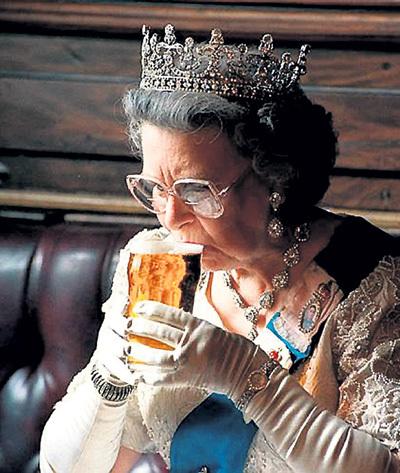 Королевский напиток для королевы