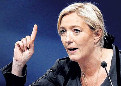 Лидер правых сил Мари Ле ПЕН давно предупреждала об исламской угрозе