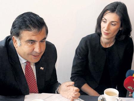 Катя ЗГУЛАДЗЕ сначала работала под СААКАШВИЛИ... Фото: ekhokavkaza.com