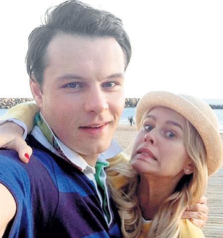 Евгений с женой - актрисой Катей КУЗНЕЦОВОЙ