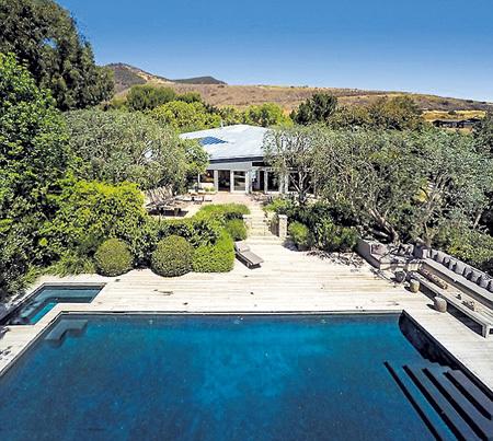 В обустройство дома хозяева вложили около $1 млн.