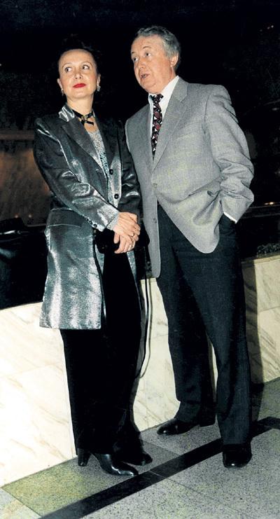 С женой Еленой СОРОКИНОЙ Лион почти 40 лет