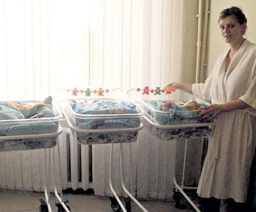 Благодаря уникальным родам Елена СЕДОВА стала знаменитостью в своем городе...