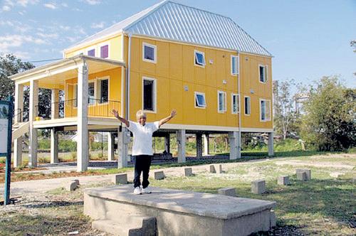 ...профинансировал строительство больше сотни квартир...