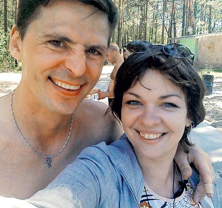 Предыдущая жена актёра Наталия ЩЕПИНСКАЯ счастлива с нынешним супругом Андреем. Фото: Vk.com