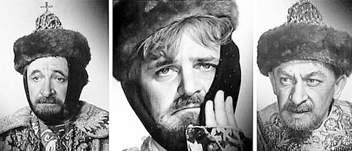 Ивана ГРОЗНОГО могли сыграть Евгений ЛЕБЕДЕВ (слева) или Евгений ЕВСТИГНЕЕВ (справа), но роль досталась Юрию ЯКОВЛЕВУ