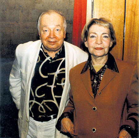 Когда Зоя БОГУСЛАВСКАЯ вышла замуж за Андрея ВОЗНЕСЕНСКОГО, Лёня, рождённый в её предыдущем браке с профессором Борисом КАГАНОМ, был подростком