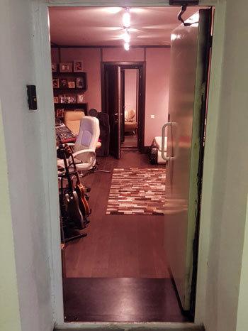 Дверь студии взломали в ночь на 14 октября