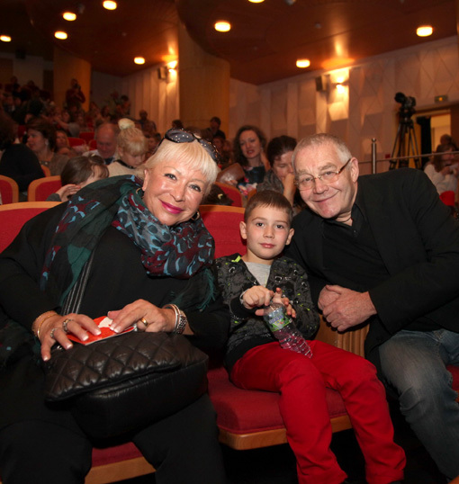 Александр ЖУРБИН с женой Ириной и внуком Бенджамином