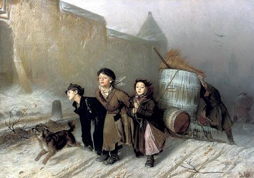 Василий ПЕРОВ «Тройка», 1866 г.