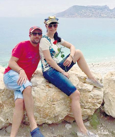 Воссоединившись, ГРИШАЕВА и НЕСТЕРОВ отправились в романтическое путешествие по Крыму. Фото: Facebook.com