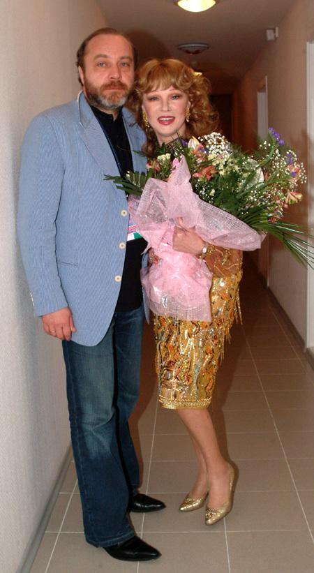 Людмила ГУРЧЕНКО и Сергей СЕНИН. Фото Ларисы КУДРЯВЦЕВОЙ