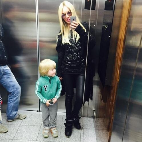 Маша МАЛИНОВСКАЯ с сыном Мироном (Фото: instagram.com)
