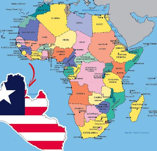 Крохотной Либерии с головой хватило бы природных богатств, но она прозябает в нищете
