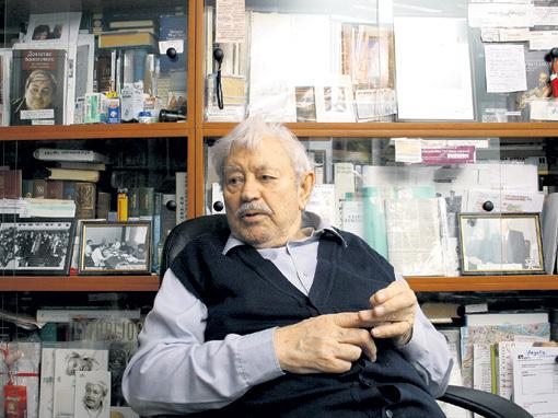 В последние годы жизни народный артист СССР Донатас БАНИОНИС страдал болезнью Альцгеймера... Фото Руслана ВОРОНОГО