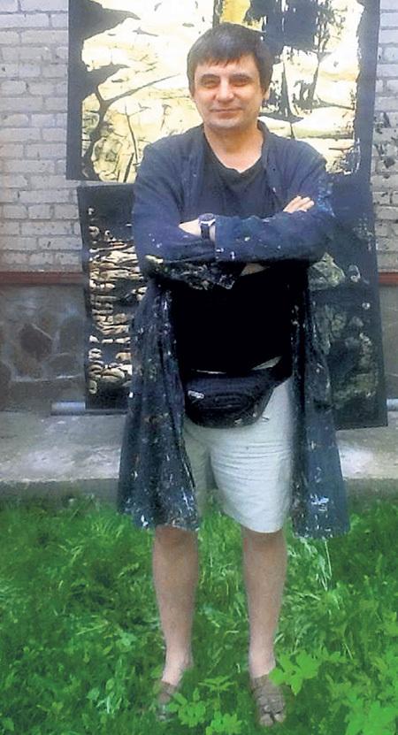 Андрей ХАНОВ - модный художник-авангардист. Фото: Facebook.com
