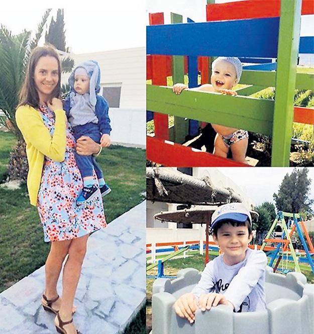 Ирина СТАРЫХ не побоялась взять за границу двух своих малышей. Фото: Instagram.com