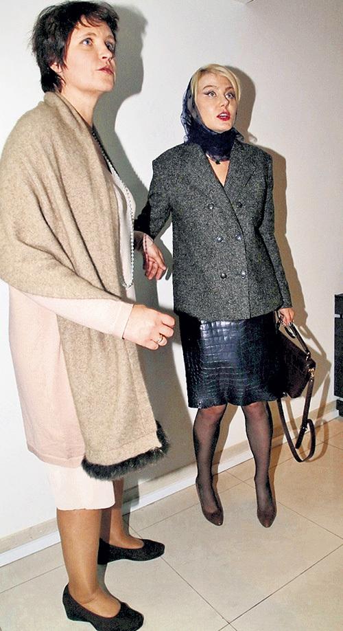 После премьеры Рената ЛИТВИНОВА пригласила СМИРНОВУ с мужем переночевать у себя