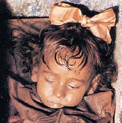 Розалия будто будто не умерла, а спит