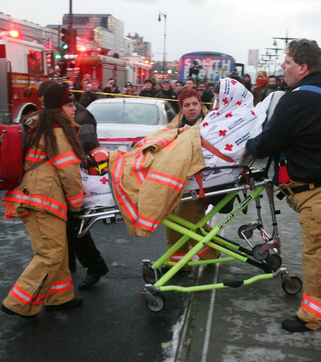 Один из 155 пассажиров рейса 1549. Фото: Globallookpress.com.