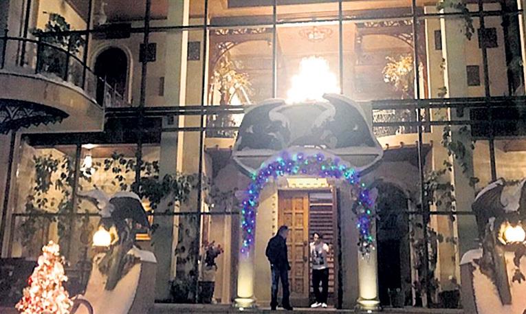 Пародист Максим будет лично встречать гостей на входе в свои хоромы. Фото: instagram.com/sever_elena