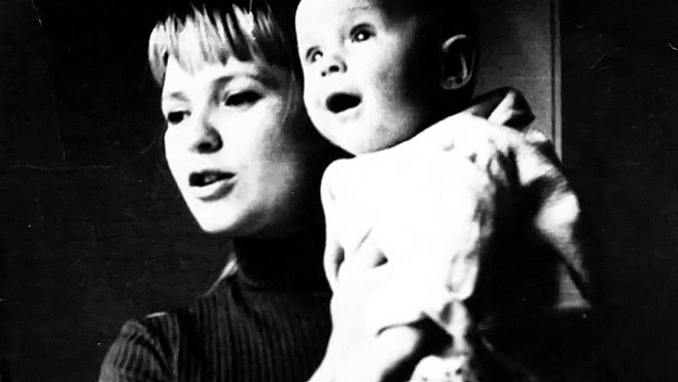Вторая жена Евгения с маленьким Вовой. Фото из личного архива