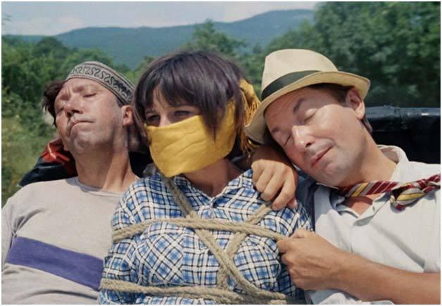 Ю. Никулин (Балбес), Н. Варлей, Г. Вицин (Трус). Источник фото: inoreader.com
