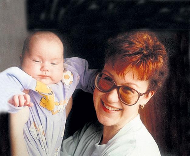 Юлия с маленькой дочуркой Сашенькой
